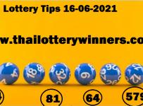 Thai Lottery Winners 16-06-2021