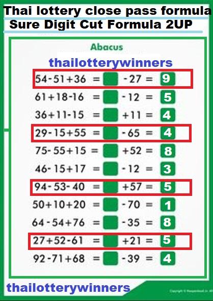 thai lottery vip tip