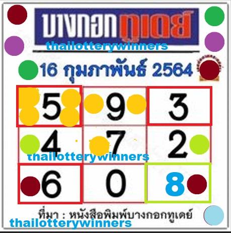 thai lottery tips ok